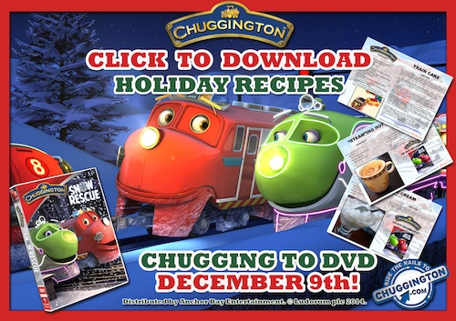 chuggington holiday recipes