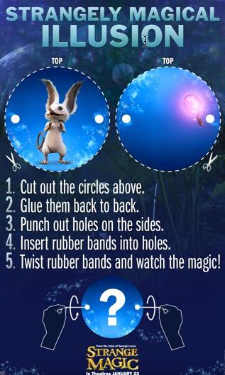 strangely magic illusion