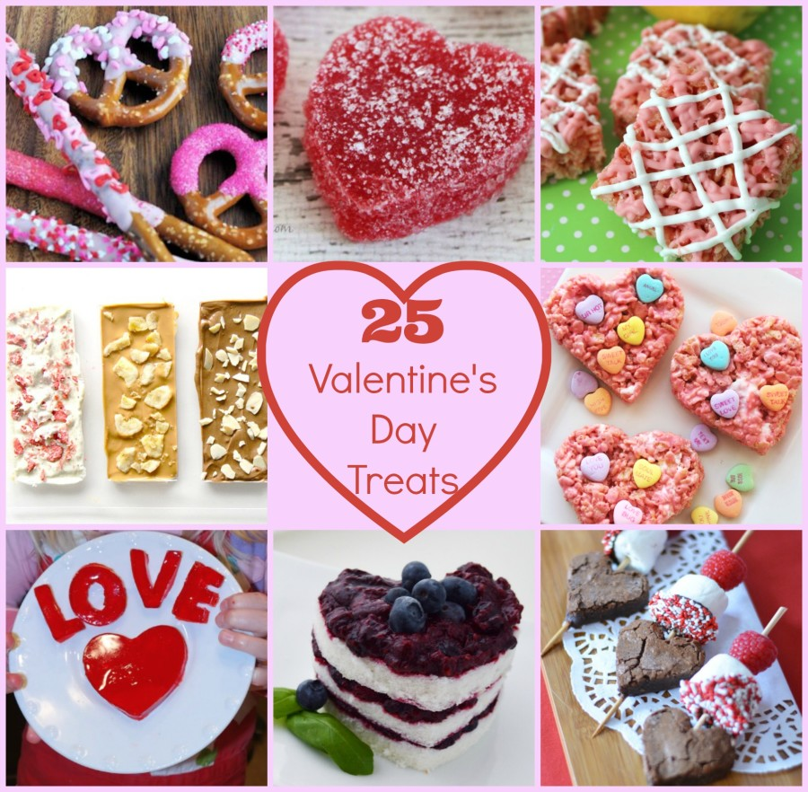 25 valentines day treats
