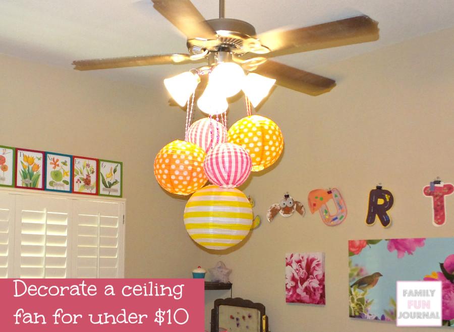 decorate ceiling fans