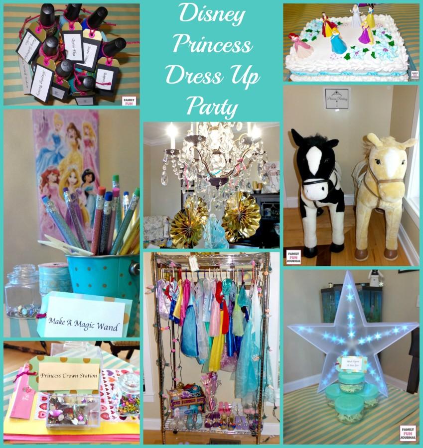 disney princess dress up party