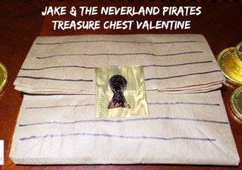 Jake And The Neverland Pirates Treasure Chest Valentine