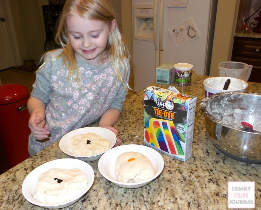 make duff goldman cake mix playdough