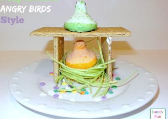 Peep Bird House-Angry Birds Style