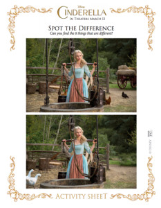 cinderella spot the difference 2