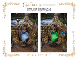 cinderella spot the difference 3