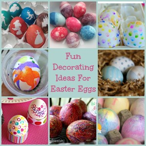 Fun Decorating Easter Eggs