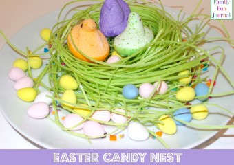 Easter Candy Nest