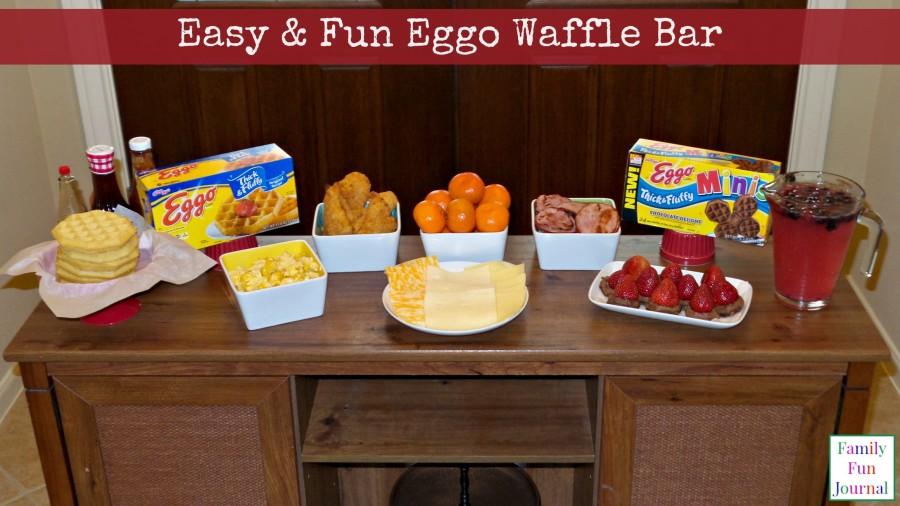 eggo waffle bar breakfast