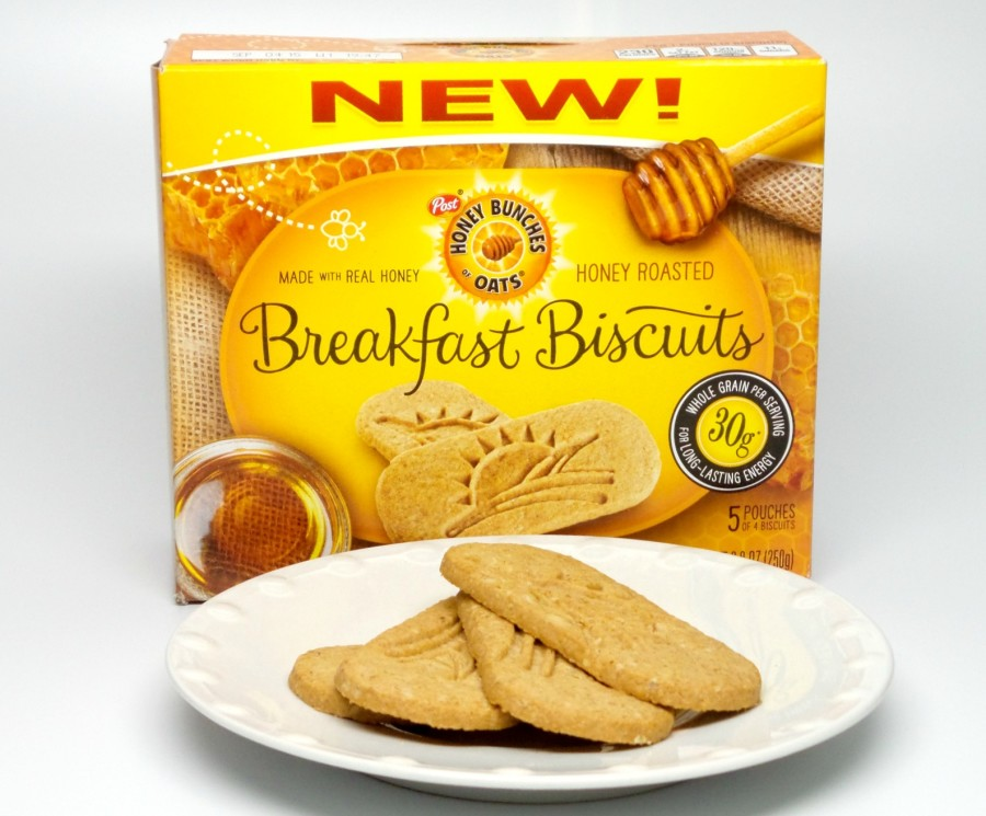 honey roasted breakfast biscuits