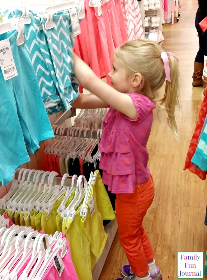 spring shopping kids oshkosh