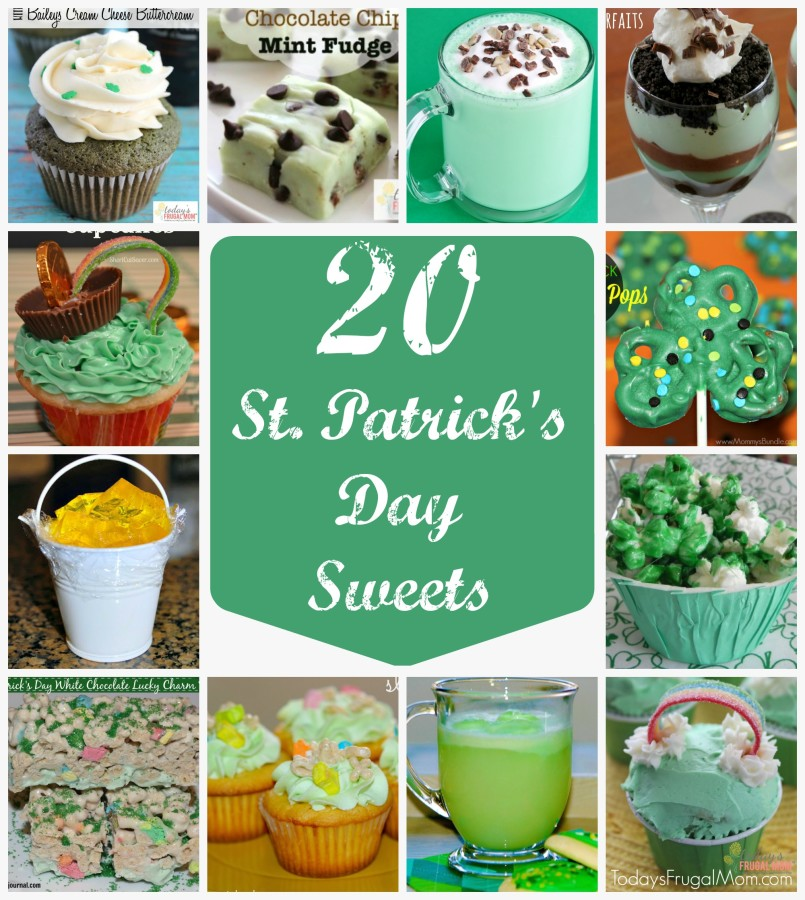 st patricks day sweets