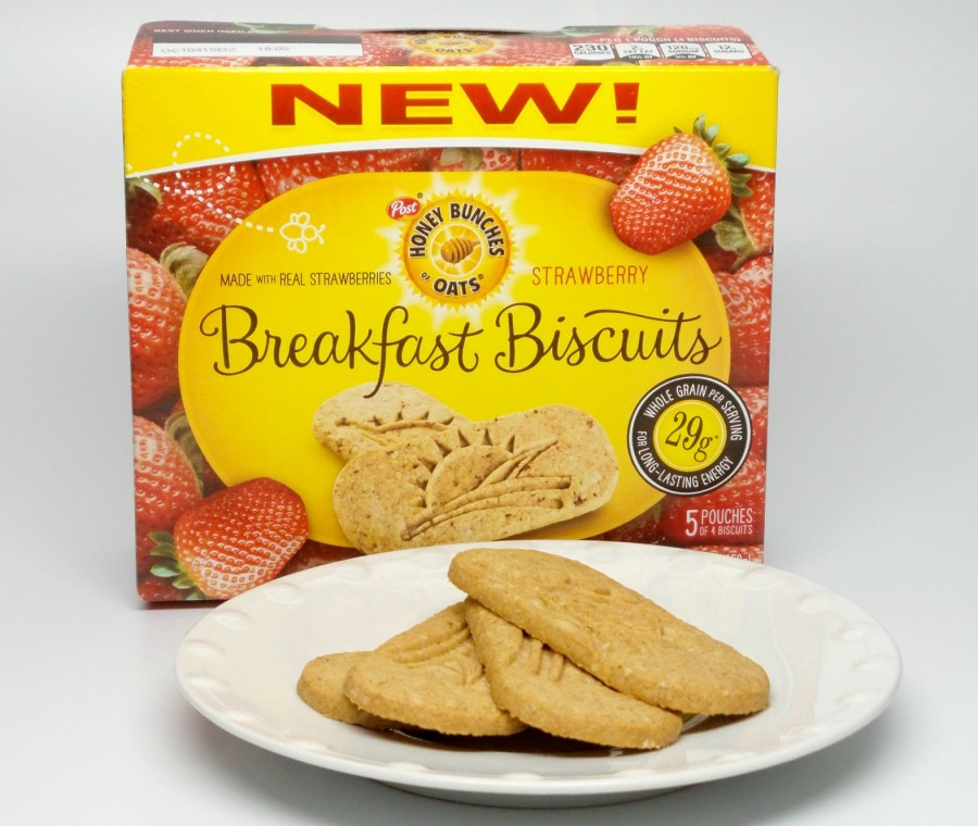 strawberry breakfast biscuits