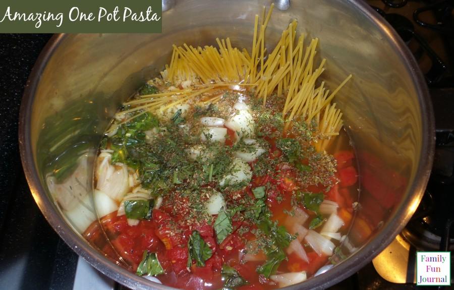 amazing one pot pasta
