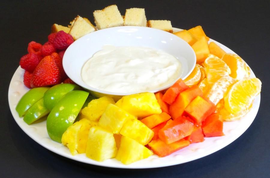 fruit dip plate