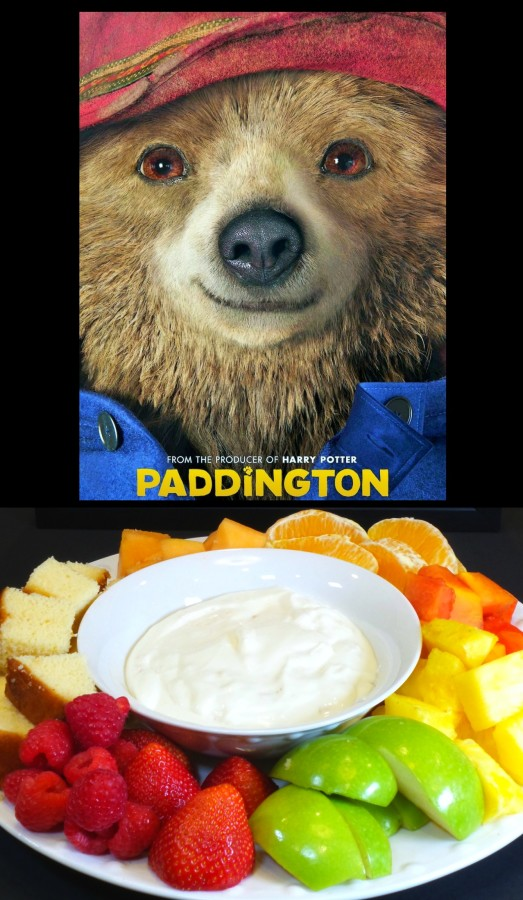 fun paddington fruit dip