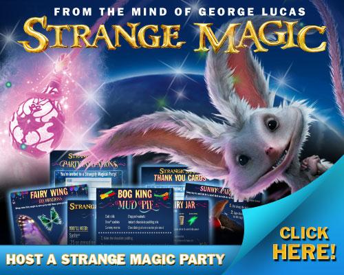 Strange Magic Party Ideas