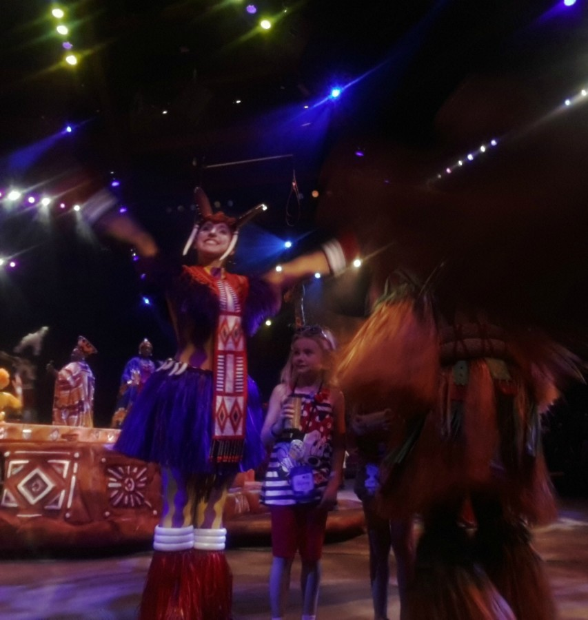 lion king show disney