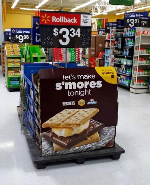 smores display