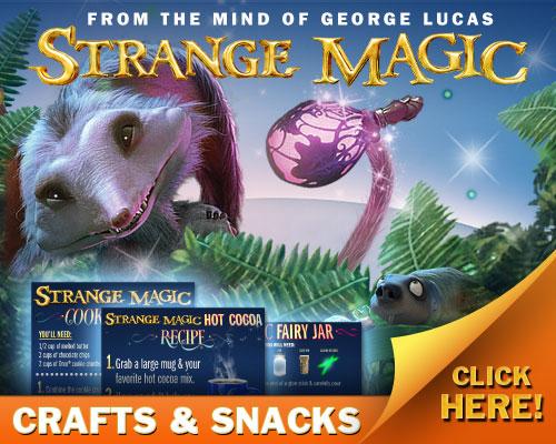 strange magic snacks