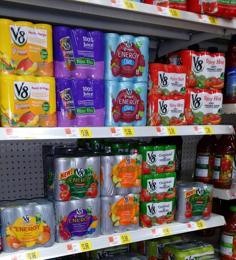 walmart v8 juice