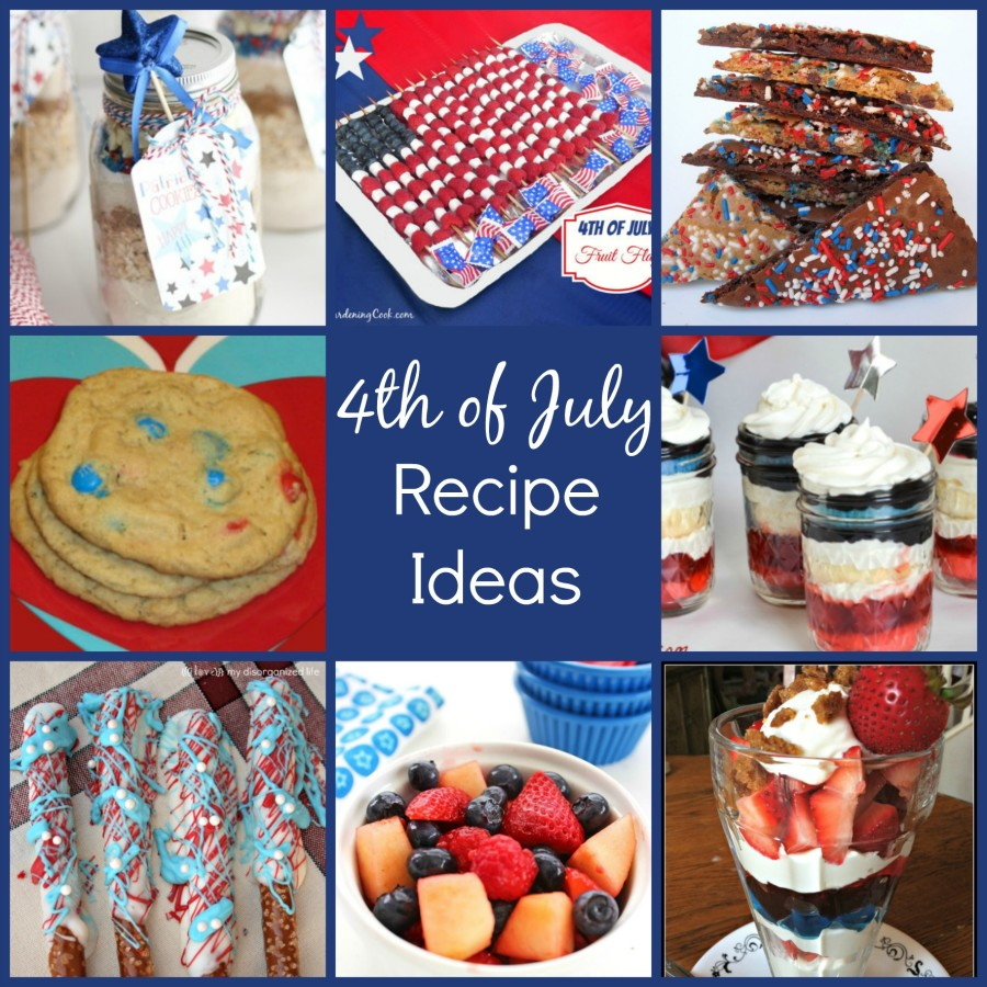 4th Of July Recipe Ideas