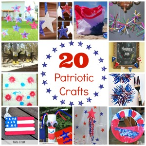 Kid-Friendly 4th of July Crafts