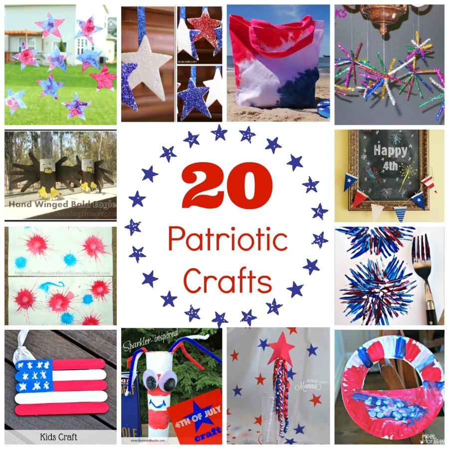 20 4th of july crafts