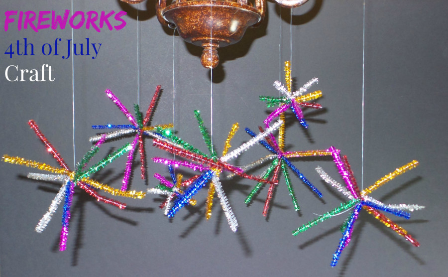 Fireworks 4th Of July Craft Family Fun Journal