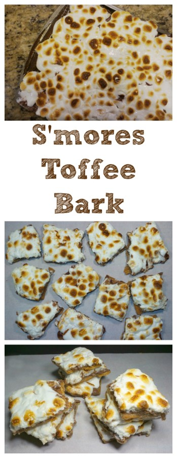 Fantastic Smores Toffee Bark - Family Fun Journal