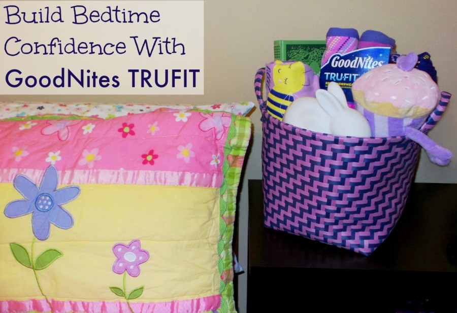 bedtime confidence with goodnites trufit