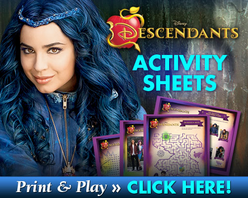 descendants printables