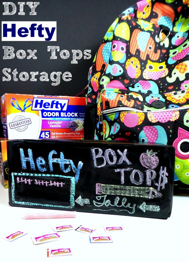 diy hefty box tops storage