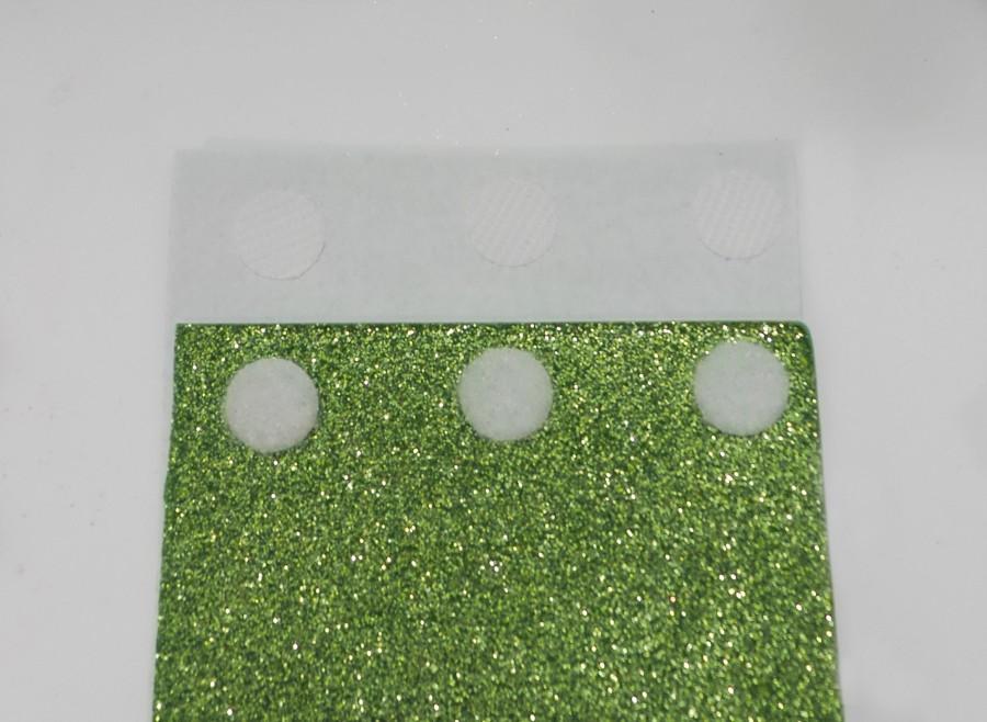 glitter sleeve step 3