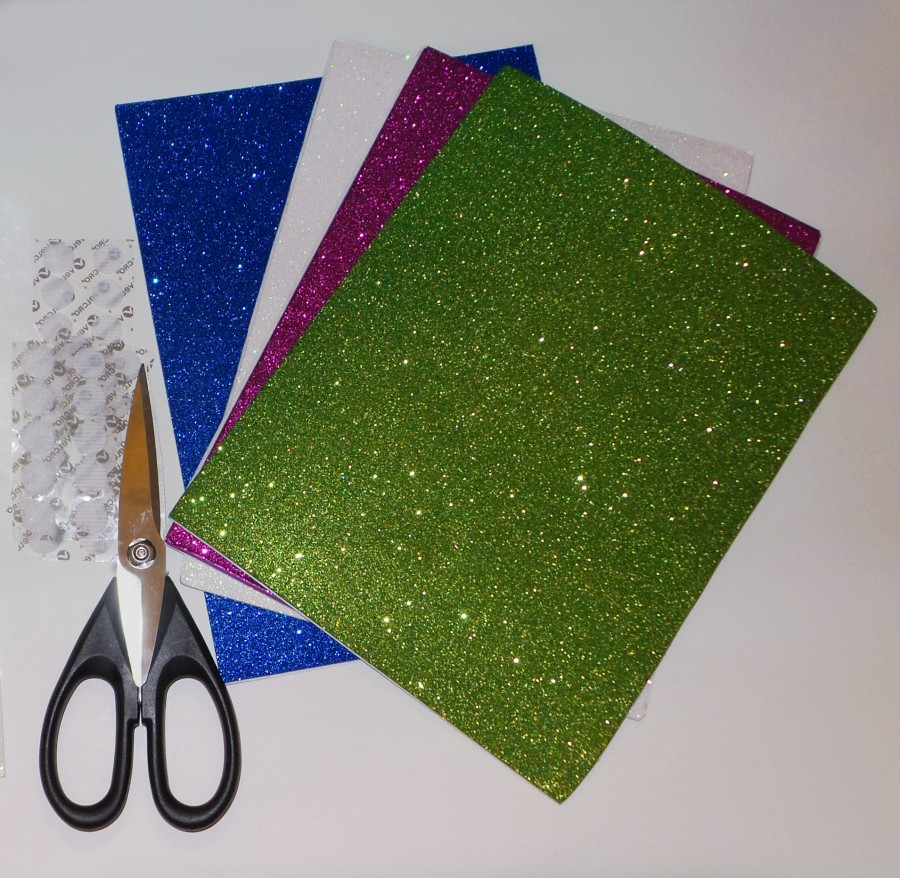 glitter sleeve supplies