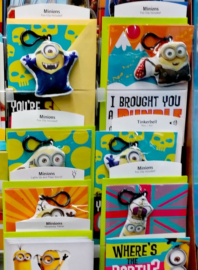 hallmark minions cards