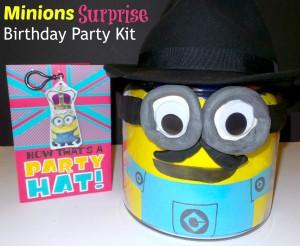 minions surprise birthday party