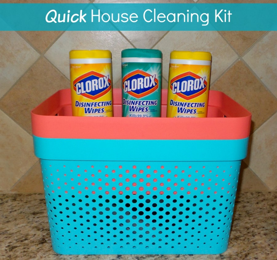 quick house cleaning kit