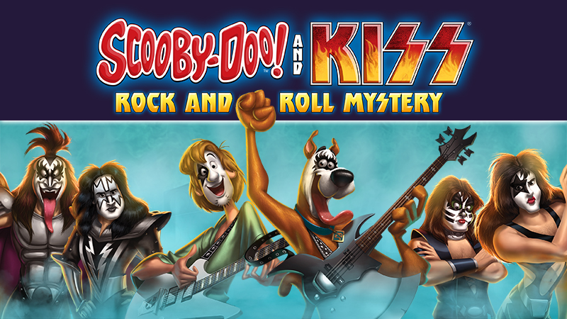 scooby-doo and kiss blu-ray dvd