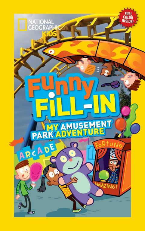 national geographic kids funny fill in amusement park