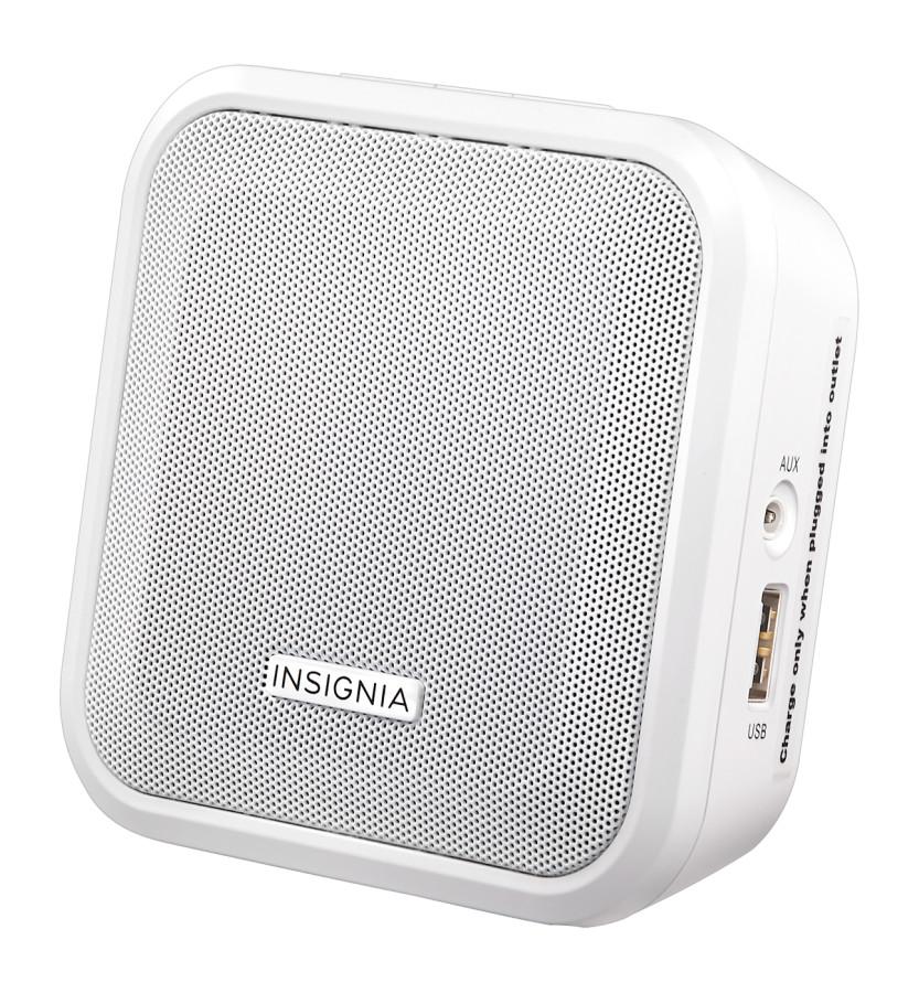 insignia bluetooth plug in speaker