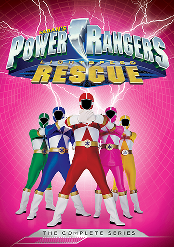 power rangers light speed rescue cover