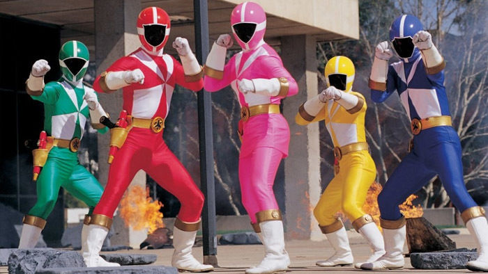 power rangers light speed rescue