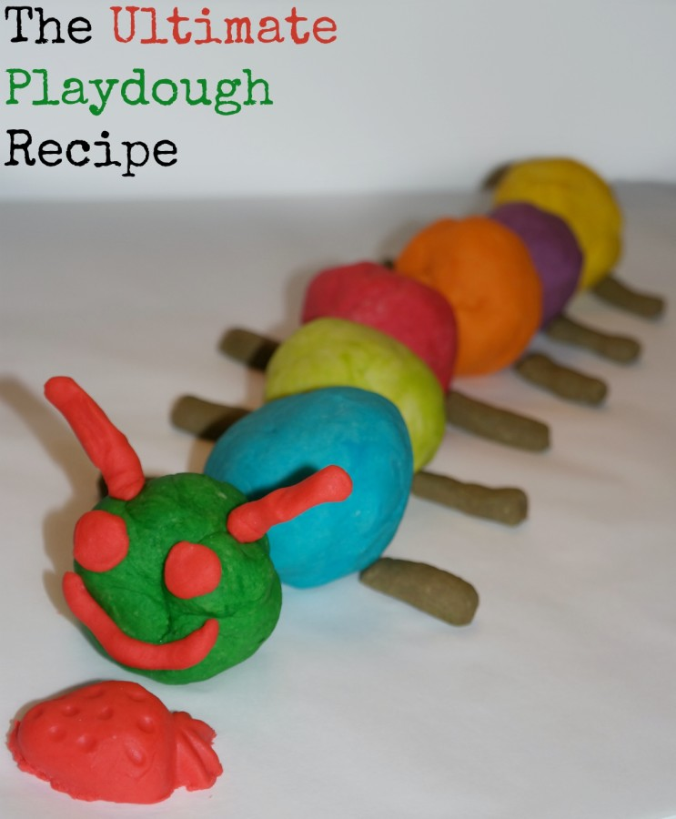 Super simple homemade playdough recipe