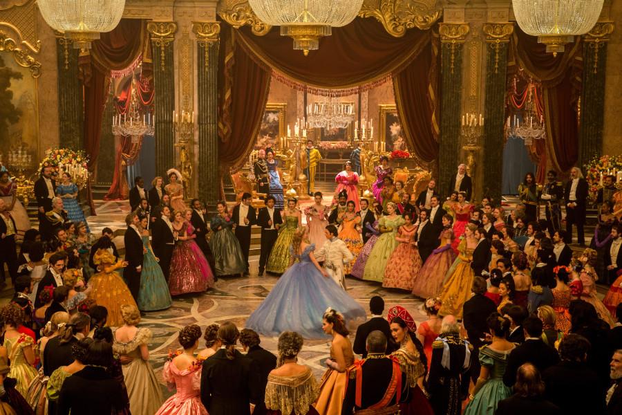 cinderella ball scene