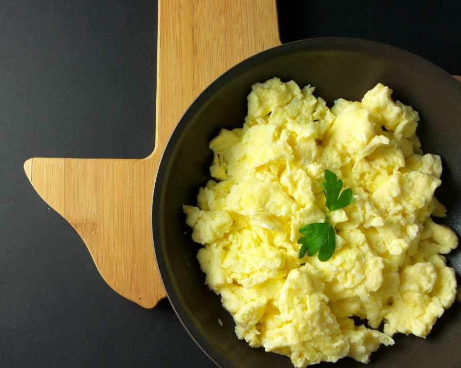 buttermilk scrambled eggs lone star