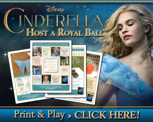 cinderella host a royal ball
