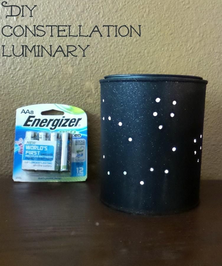 diy constellation luminary