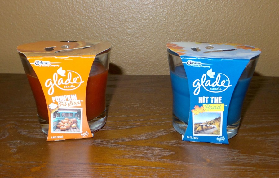 Glade Fall Limited Edition candles