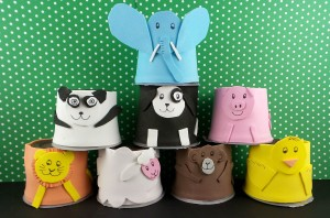 Hershey's Pudding Cup Animals